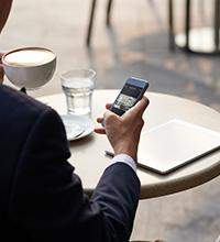 Auto-surveillance à distance sur smartphone