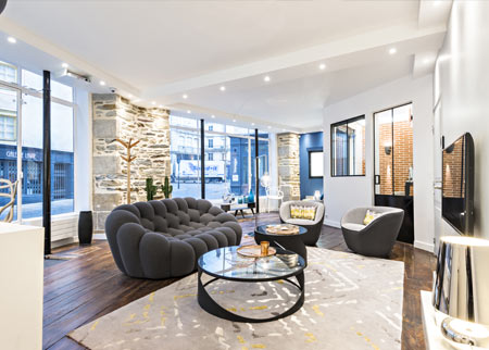 le showroom delta dore de rennes delta dore. Black Bedroom Furniture Sets. Home Design Ideas