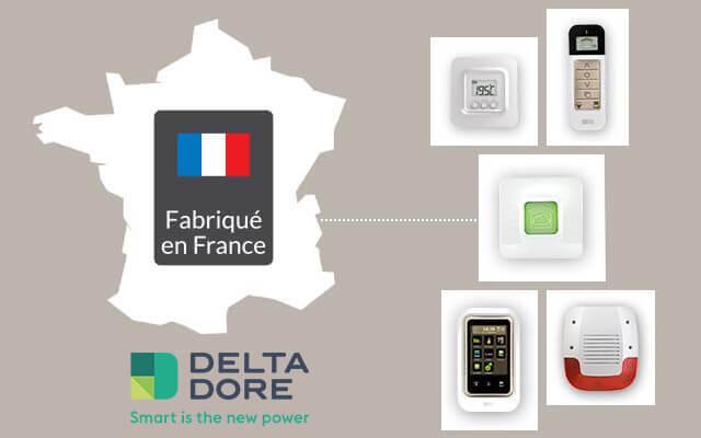 marque fran aise de solutions domotiques delta dore. Black Bedroom Furniture Sets. Home Design Ideas