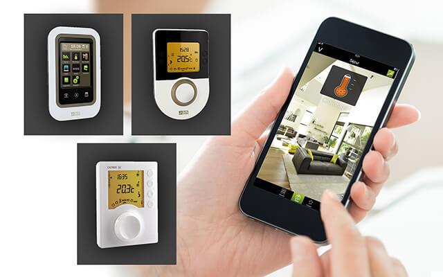 connectez vos thermostats tybox et calybox delta dore. Black Bedroom Furniture Sets. Home Design Ideas