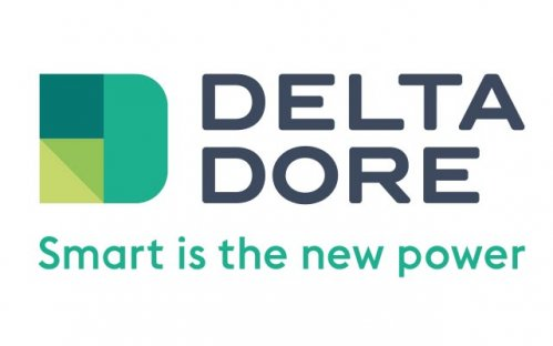 logo Delta Dore : smart is the new power