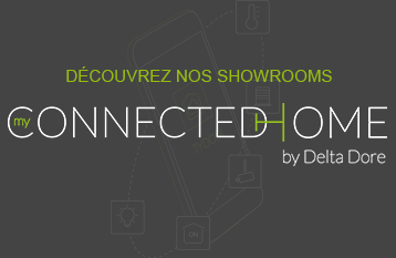 Logo showroom Delta Dore My Connected Home