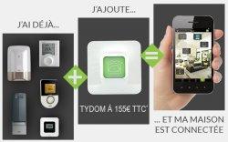 Produits Delta Dore compatibles Smartphone avec Tydom
