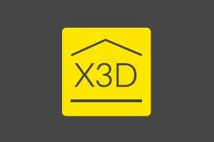 logo protocole X3D Delta Dore