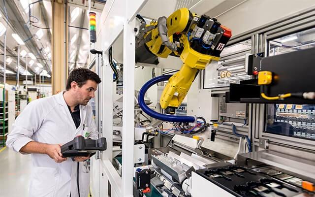 Robotique et cobotique Delta Dore