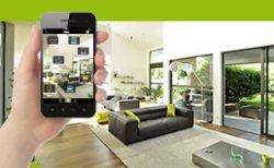 Portable avec l'application domotique Delta Dore pour la maison